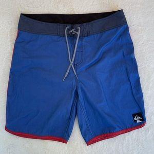 Quiksilver Men's Scallop Boardshort Shorts sz 34
